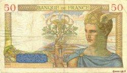 50 Francs CÉRÈS FRANCE  1935 F.17.20 TB