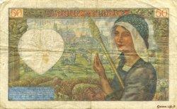 50 Francs JACQUES CŒUR FRANCE  1941 F.19.15 TB+