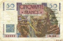 50 Francs LE VERRIER FRANCE  1950 F.20.16 TB+