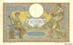 100 Francs LUC OLIVIER MERSON sans LOM FRANCE  1913 F.23.05 TTB