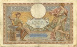 100 Francs LUC OLIVIER MERSON type modifié FRANCE  1939 F.25.40 B+