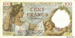 100 Francs SULLY FRANCE  1940 F.26.34 TTB+