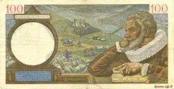 100 Francs SULLY FRANCE  1940 F.26.36 TTB
