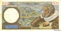 100 Francs SULLY FRANCE  1941 F.26.49 TTB+