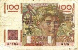 100 Francs JEUNE PAYSAN FRANCE  1946 F.28.09 TTB