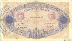 500 Francs BLEU ET ROSE FRANCE  1923 F.30.27 B