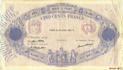 500 Francs BLEU ET ROSE FRANCE  1931 F.30.34 pr.TB
