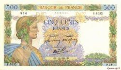500 Francs LA PAIX FRANCE  1942 F.32.41 NEUF