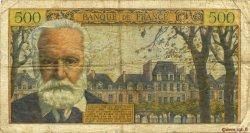 500 Francs VICTOR HUGO FRANCE  1957 F.35.07 B+
