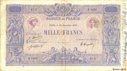 1000 Francs BLEU ET ROSE FRANCE  1920 F.36.36 TTB