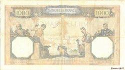 1000 Francs CÉRÈS ET MERCURE type modifié FRANCE  1939 F.38.37 TTB