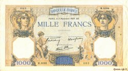1000 Francs CÉRÈS ET MERCURE type modifié FRANCE  1939 F.38.38 TTB+