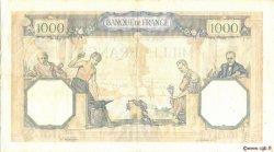1000 Francs CÉRÈS ET MERCURE type modifié FRANCE  1940 F.38.45 TTB+