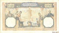 1000 Francs CÉRÈS ET MERCURE type modifié FRANCE  1940 F.38.49 TTB