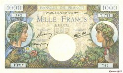 1000 Francs COMMERCE ET INDUSTRIE FRANCE  1941 F.39.04 TTB+