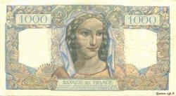 1000 Francs MINERVE ET HERCULE FRANCE  1945 F.41.07 TTB