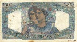1000 Francs MINERVE ET HERCULE FRANCE  1948 F.41.24 TB