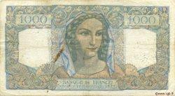 1000 Francs MINERVE ET HERCULE FRANCE  1949 F.41.25 TB