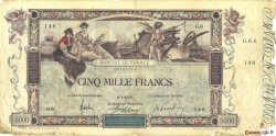 5000 Francs FLAMENG FRANCE  1918 F.43.01 B