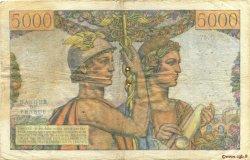 5000 Francs TERRE ET MER FRANCE  1951 F.48.03 B