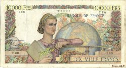 10000 Francs GÉNIE FRANÇAIS FRANCE  1950 F.50.31 TB+