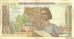 10000 Francs GÉNIE FRANÇAIS FRANCE  1951 F.50.51 TB+