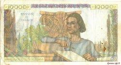 10000 Francs GÉNIE FRANÇAIS FRANCE  1952 F.50.57 TTB