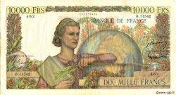 10000 Francs GÉNIE FRANÇAIS FRANCE  1956 F.50.80 TTB