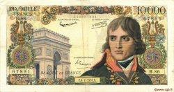 10000 Francs BONAPARTE FRANCE  1957 F.51.09 pr.TTB