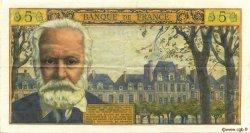 5 Nouveaux Francs VICTOR HUGO FRANCE  1961 F.56.08 TTB+