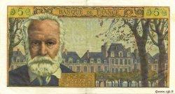 5 Nouveaux Francs VICTOR HUGO FRANCE  1962 F.56.10 pr.SUP
