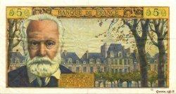 5 Nouveaux Francs VICTOR HUGO FRANCE  1965 F.56.19 TTB à SUP