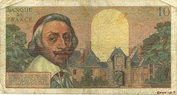 10 Nouveaux Francs RICHELIEU FRANCE  1962 F.57.21 B+
