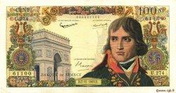 100 Nouveaux Francs BONAPARTE FRANCE  1963 F.59.24 pr.TTB