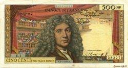 500 Nouveaux Francs MOLIÈRE FRANCE  1959 F.60.01 TB