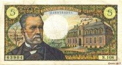5 Francs PASTEUR FRANCE  1969 F.61.10 pr.TTB