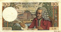 10 Francs VOLTAIRE FRANCE  1963 F.62.03 TB+
