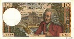 10 Francs VOLTAIRE FRANCE  1967 F.62.26 TTB+