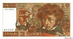 10 Francs BERLIOZ FRANCE  1975 F.63.11 SUP