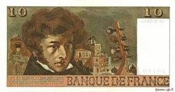 10 Francs BERLIOZ FRANCE  1975 F.63.14 pr.SUP