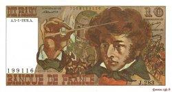 10 Francs BERLIOZ FRANCE  1976 F.63.17a pr.SPL