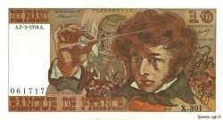 10 Francs BERLIOZ FRANCE  1978 F.63.23 SUP