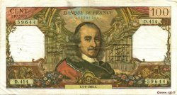100 Francs CORNEILLE FRANCE  1969 F.65.27 TB
