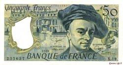50 Francs QUENTIN DE LA TOUR FRANCE  1980 F.67.06 SUP+