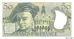50 Francs QUENTIN DE LA TOUR FRANCE  1989 F.67.15 SUP
