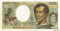 200 Francs MONTESQUIEU FRANCE  1982 F.70.02 TB+