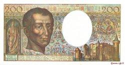 200 Francs MONTESQUIEU FRANCE  1990 F.70.10a SPL
