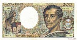 200 Francs MONTESQUIEU FRANCE  1990 F.70.10a TTB+