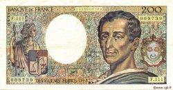 200 Francs MONTESQUIEU FRANCE  1992 F.70.12a TTB