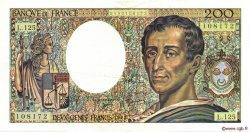 200 Francs MONTESQUIEU FRANCE  1992 F.70.12b pr.SUP